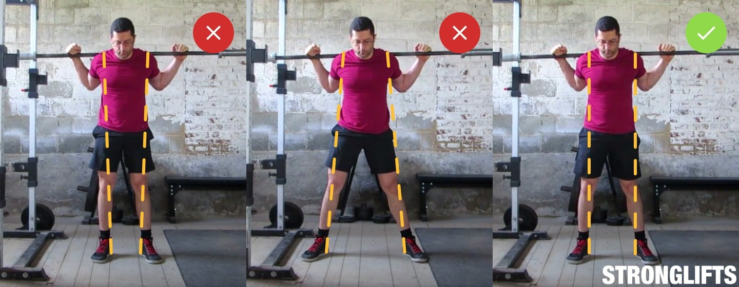 Learn Proper Squat Form To Get Stronger by gymnasium post (GP) (gymnasiumpost.com)