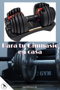 banco para ejercicios pesas