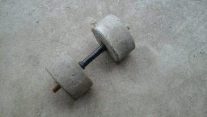 discos de cemento para pesas