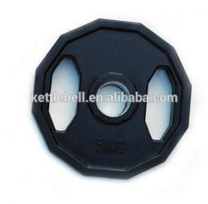 discos de pesas hexagonales
