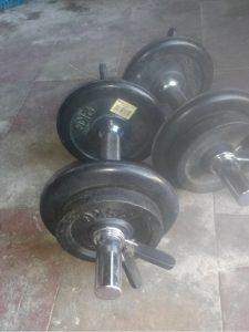 mancuernas 7 kg