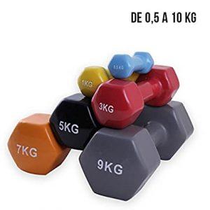 mancuernas decathlon 3kg