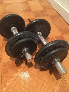pesas pequeñas decathlon