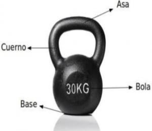pesas rusas 30 kg