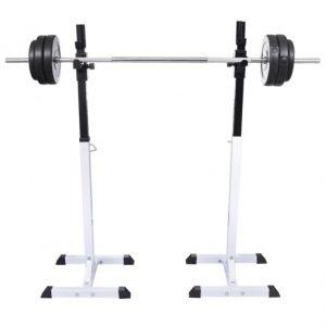 soporte pesas sentadillas