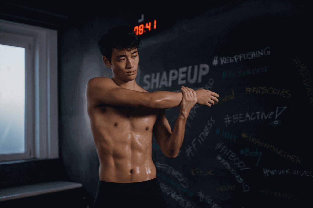 Cómo construir músculo sin ganar grasa pesada